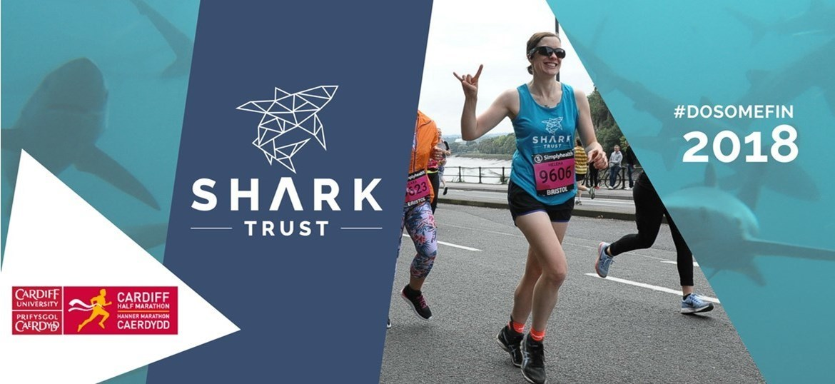 Cardiff Half Marathon...for sharks!